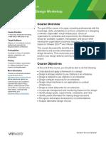 EDU DATASHEET VSphereDesignWorkshop V54