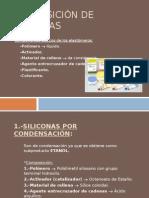 Composición de Siliconas