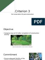 GRIHA Criterion 3