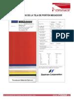 08 - Caracteristicas de La Tela de Portón Megadoor