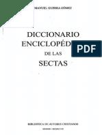 271998875 GUERRA GOMEZ M Diccionario Enciclopedico de Las Sectas 1998