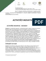 Activitati Inovative 7.1