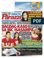 Pinoy Parazzi Vol 8 Issue 129 October 26 - 27, 2015