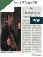 [ITA] - L'Unione Sarda su Affiches sans moralisme