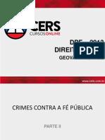 10. Crimes Contra a Fé Pública (1)