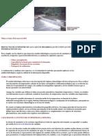 Proyectos en Ingeniería Hidráulica