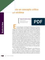 Colombia. Concepto Crítico de Víctima-Sergio de Subiría