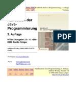 Handbuch Der Java Programmierung
