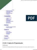 Curso CS-01 _ Lógica de Pro..