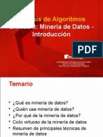 01.Minería de Datos - Introducción (1)