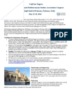 Call for Papers-Palermo 2016