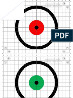 50 Yard Aimpoint Zeroing Targets