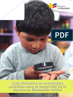Guia Didactica de Estrategias Para El Desarrollo de La Ciencia en Educacion Inicial