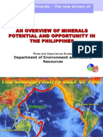 Overview of the Phil Minerals Potential