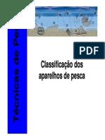 Características Das Artes de Pesca