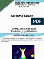 Slides Aula Sistema Solar