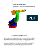 Position, Orientation and Coordinate Transformations