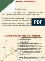 Sisteme de Coordonate