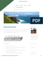 GEOLOGI STRUKTUR _ geologi