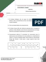 Estudo Dirigido Lipídeos - II Unidade