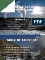 Studi Geologi Pada Prospek Panas Bumi