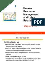 Ch10 Human Resource Management