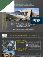 Estrategias de diseño Bioclimático