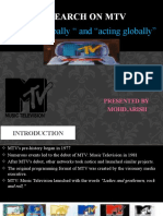 Research on MTV