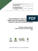 G1 MO2 MPM1 Guía Para La Compra de Dotacion Modalidades de Educación Inicial v2