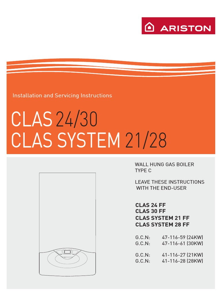 Logic Combi 30 Diagram Ariston Clas24 Water Heating Hvac