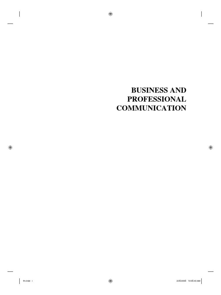 Bu272 professional presentation nonverbal communication communication