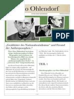 """Otto Ohlendorf. """"Gralshüter Des Nationalsozialismus """" Und Freund Der Anthroposophen. Www.egoisten.de, Ostern 2008"""