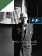 Le Corbusier, Fascista