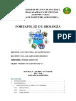 Lata Uruchima Byron 1ero Agronomía (a) Portafolio de Biología Completo