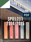 Kammerspiele Promenade ... SPIELZEIT 2014/2015 Landestheater Linz