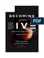 BECOMING a Level - FIVE Multiplying Church Field Guide