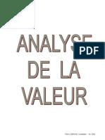 37156063 Analyse de a Valeur