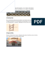 glosario arquitectónico