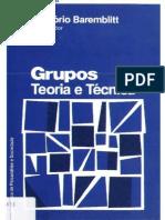 Baremblit+Grupos+-+Teoria+e+Técnica