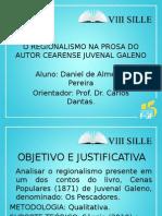 Regionalismo Na Prosa Do Autor Cearense Juvenal
