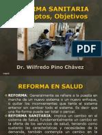 1. Reforma Sanitaria Conceptos Objetivos