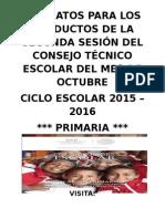ProducCTEPrimaria2daSesion Cte 2015-2016