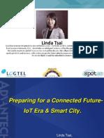 03. Preparing for a Connected Future- IoT Era & Smart City_Linda Tsai_Advantech_ Smart City 2015