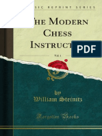 Steinitz - The Modern Chess Instructor