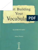 Build Your Vocabulary, Starting