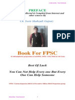 PPSC FPSC Tests Complete Book
