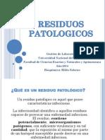Residuos Patologicos