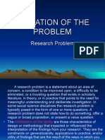 Limitation of the Problem