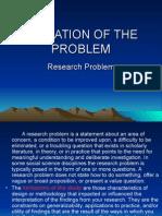 Limitation of the Problem