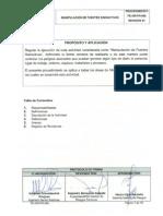 07 PE-GR-PR-008 Manipulación de Fuentes Radiactivas